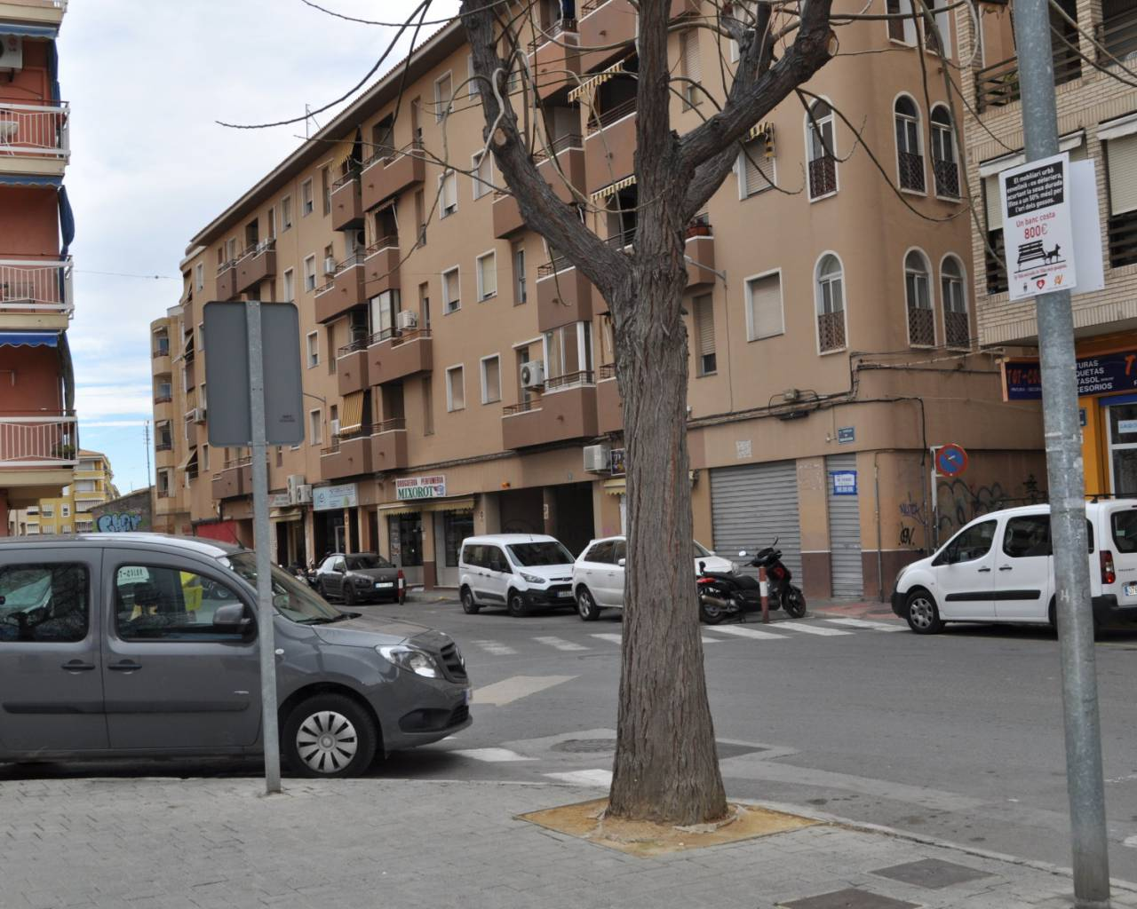 Long time Rental - Garage - Villajoyosa - Town Center