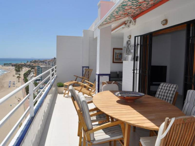 Penthouse - Short time rental - Villajoyosa - Main Beach
